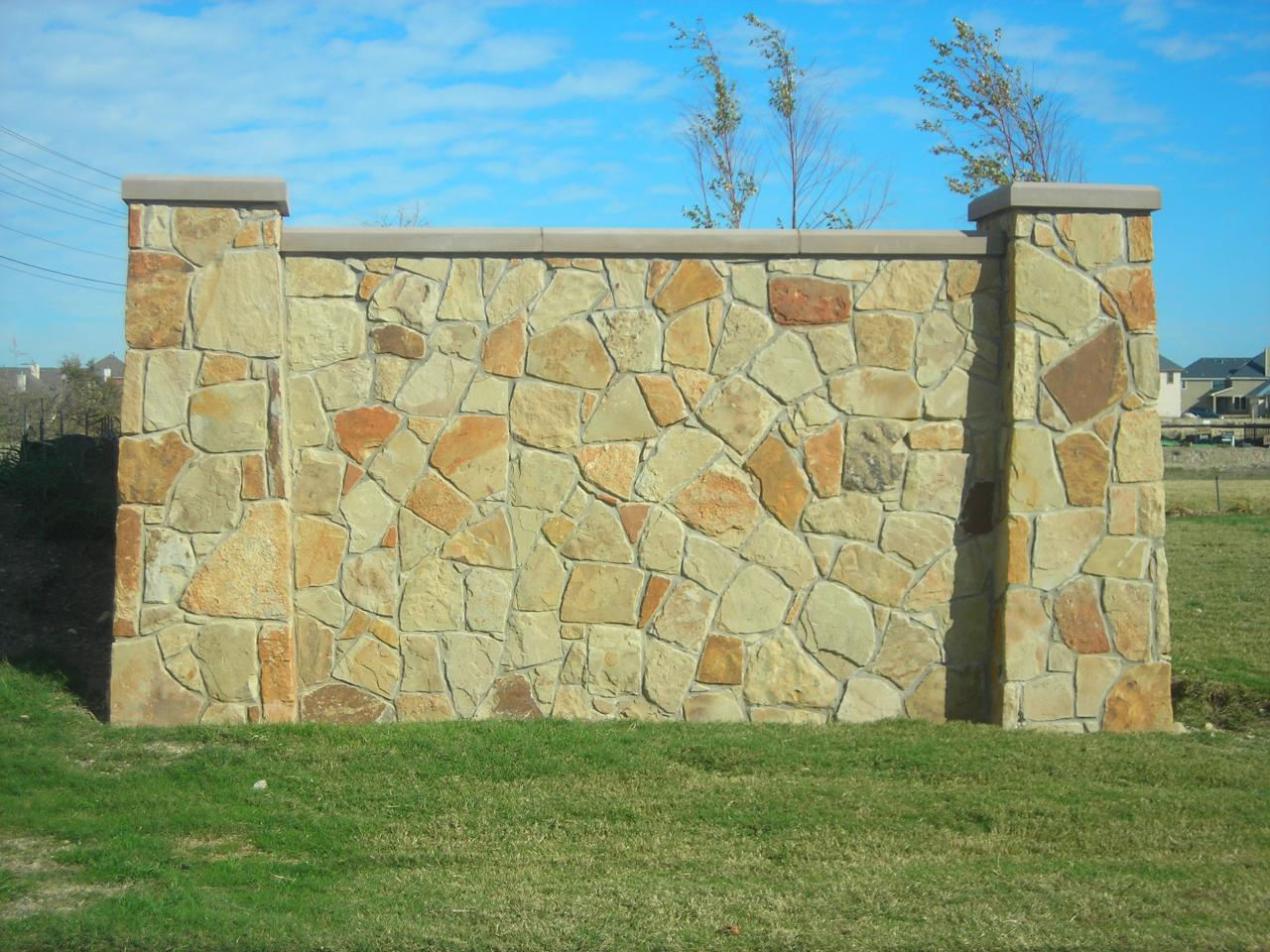 DRC Retaining Walls & Fences - STONE GALLERY