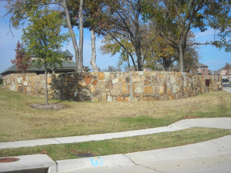 Richardson retaining walls