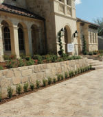 What we do - DFW retaining wall services